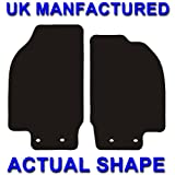 FORD STREET KA 2003-2006 TAILORED CAR FLOOR MATS DELUXE BLACK