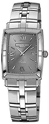 Raymond Weil Parsifal Watch with Grey Dial and Stainless Steel Bracelet 9341-ST-00607 from Raymond Weil