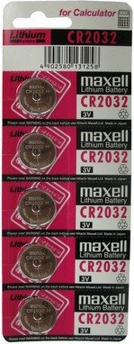 CR2032 Maxell LITHIUM 5 BATTERIES Personal Healthcare / Health Care