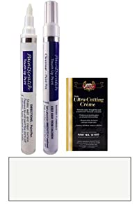 1996 Honda Accord Frost White NH-538 Touch Up Paint Pen Kit - Original Factory OEM Automotive Paint - Color Match Guaranteed