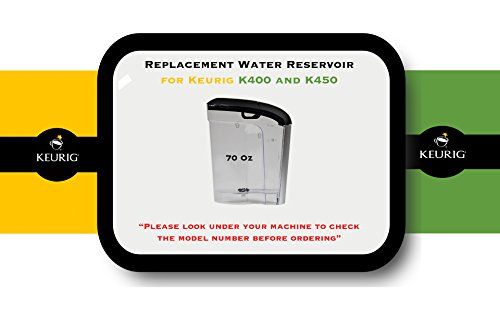 Replacement Water Reservoir for Keurig 2.0 K400 and K450 - 70 Oz. (Keurig Water Reservoirs compare prices)