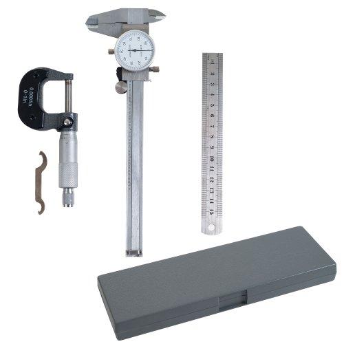 Stalwart TM5330 75-Misuratore calibro Micrometro, Set di ispezione, 3 pezzi