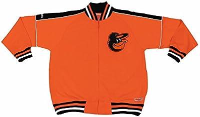 MLB Baltimore Orioles Contrast Shoulder Track Jacket