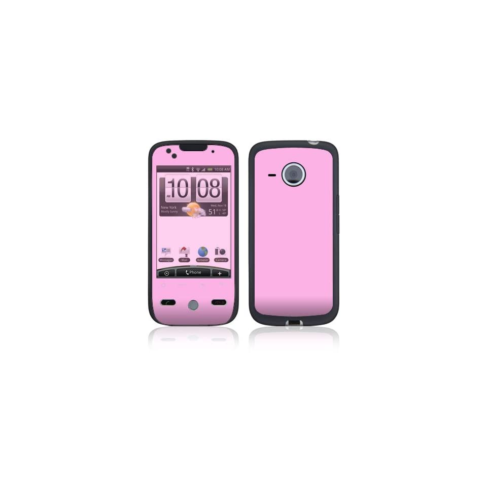 Simply Pink Protective Skin Cover Decal Sticker for HTC Droid Eris Cell Phone