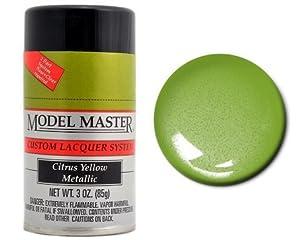 Testors Citrus Yellow Metallic 3oz Spray Paint 28101 Automotive