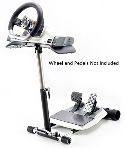 Racing Steering Wheelstand for the XBox 360 Wireless Wheel, not for Mad Catz, Original Wheel Stand Pro. Wheel and Pedals Not included. (Xbox 360 Steering Wheel Stand compare prices)