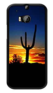 """Humor Gang Desert Night Printed Designer Mobile Back Cover For """"HTC ONE M8 - HTC ONE M8S"""" (3D, Glossy, Premium Quality Snap On Case)"""