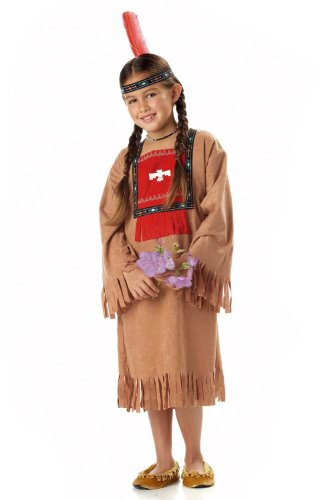 Child's Running Brook Indian Costume Size Small (6-8)