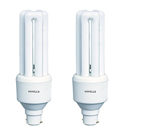 Havells Retrofit Normal 23 Watt CFL Bulb (Cool Day Light,Pack of 2) Image
