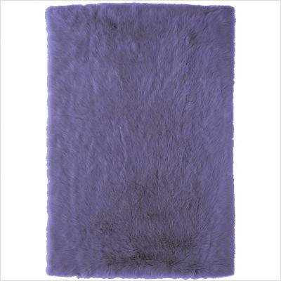 Yeti Lavender Shag Rug Size: 5' x 8'
