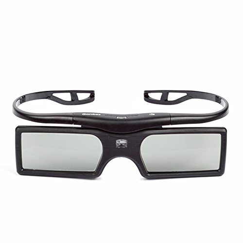 2 Pack SainSonic SS-15D 3D Glasses Detachable 144Hz for ALL DLP-Link Projector, TV & HDTV, SamSung, BenQ, Acer, Viewsonic, Optoma, Sharp, Mitsubishi, Sony, LG, Panasonic, Vivitek, Dell, Nec, Black (Projectors Sharp compare prices)