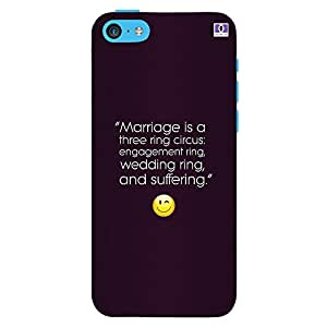 Marriage - Mobile Back Case Cover For Apple Iphone 5