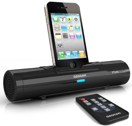 AZATOM® iFlute Black Portable Docking Station