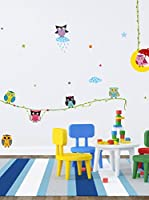 Ambiance-sticker Vinilo Decorativo Owl Frinds