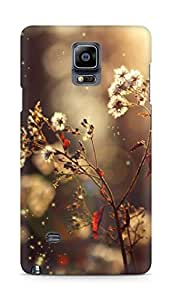 Amez designer printed 3d premium high quality back case cover for Samsung Galaxy Note 4 (daisy )
