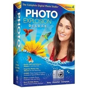 PHOTO EXPLOSION DELUXE 4.0 (SOFTWARE - PRODUCTIVITY)