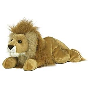 Aurora World Plush Leonardus Lion Flopsie
