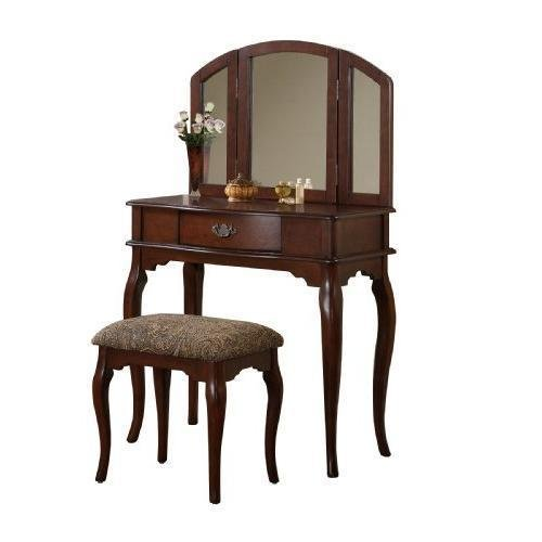 bobkona-jaden-collection-vanity-set-with-stool-cherry-new