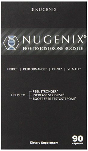 Nugenix Natural Testosterone Booster Capsules 90 Count (Pack of 3)