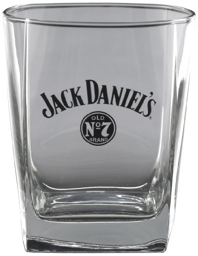 Jack Daniel's Licensed Barware Bug Swing Logo Double Old Fashioned Glass