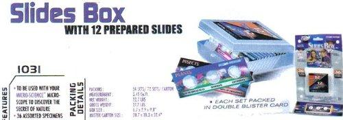 Micro-Science 12 Prepared Precision Slides Wbox/36 Specimens