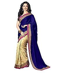 Glory Sarees Jacquard Saree (Tamanna124_Beige)