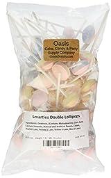 Smarties Double Lollies Lollipops, 1 Pound