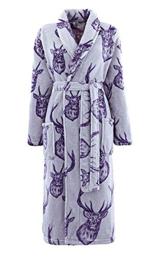 catherine-lansfield-stag-bathrobe-grey