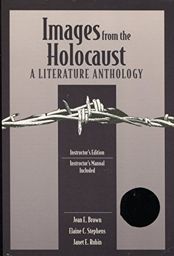 Images From the Holocaust a Literature A