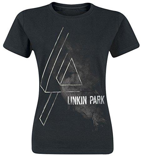 Linkin Park Smoke Logo Maglia donna nero L