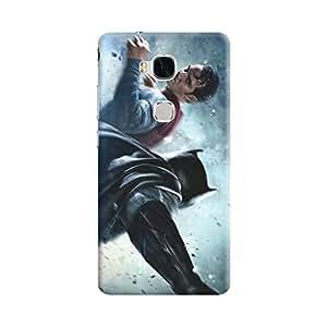 Aurmen High Quality Printed Designer Back Case Cover For Huawei Honor 5x (Batman62)