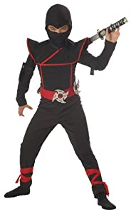 California Costumes Toys Stealth Ninja, Medium Plus