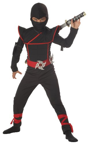 California Costumes Toys Stealth Ninja, Medium