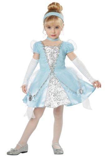 California Costumes Cinderella Deluxe Toddler Costume, 3-4 front-669201