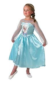 Rubie`s - Disfraz infantil de Elsa clásico (889542-L)