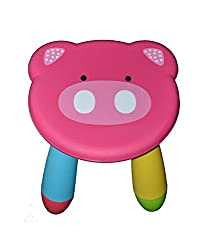 Olly Polly Kids Multipurpose Portable Stool Pink - Gift Toy