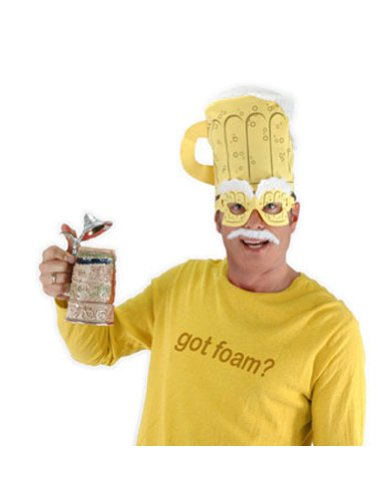 Beer Man Kit Halloween Costume - Most Adults