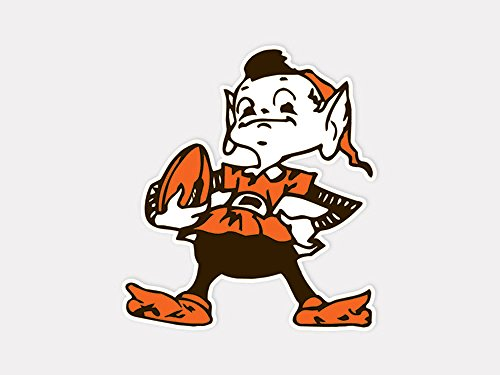 NFL Cleveland Browns 63042011 Perfect Cut Color Decal, 4