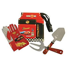 Midwest Gloves and Gear CR10P5 Disney Pixar Cars Gardening Pack