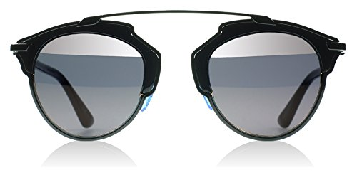 Dior-BOYYO-Black-So-Real-Round-Sunglasses-Lens-Category-3-Lens-Mirrored