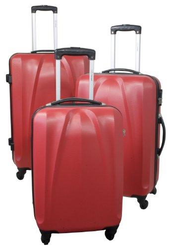 Kofferset 3tlg Reisekoffer Polycarbonat Hartschale