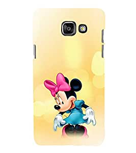 EPICCASE Minnie Rays Mobile Back Case Cover For Samsung Galaxy A5 (2016) (Designer Case)