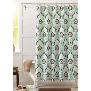 Seafoam Green Shower Curtain Celery Green Shower Curtain