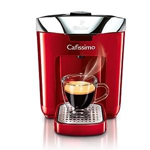 Tchibo Kaffeekapselmaschine Cafissimo DUO, Hot Red