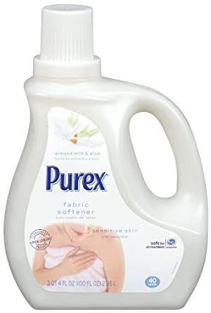 Purex Liquid Fabric Softener Almond Milk and Aloe, 100 Ounce