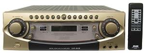 BMB DAR-800 II 600W 4-Channel Karaoke Mixing Amplifier + Step-Up Transformer