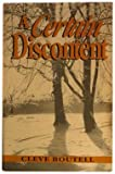 img - for A Certain Discontent by Boutell, Cleve (1992) Paperback book / textbook / text book