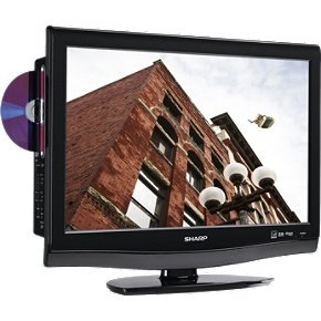 Sharp AQUOS LC22DV28UT 22-Inch LCD TV/DVD Combo, Black