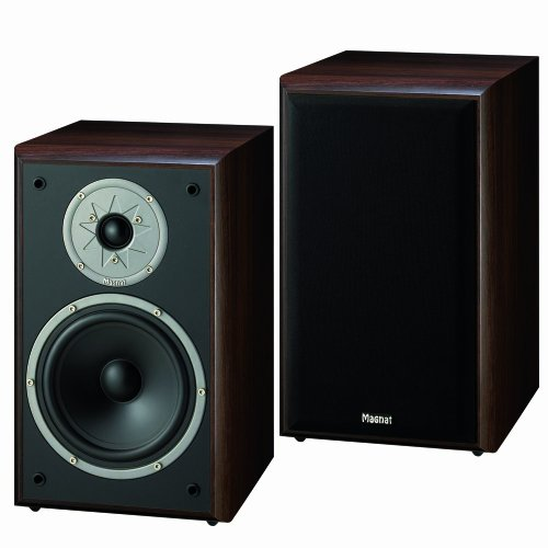 Magnat Monitor Supreme 200 2-Wege Regal Lautsprecher (180 Watt) mocca Paar
