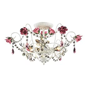 Mary-Kate and Ashley Rosavita Flush Mount Light
